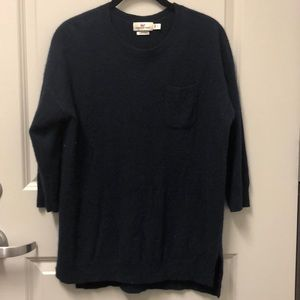 Vineyard Vines Navy Cashmere Sweater